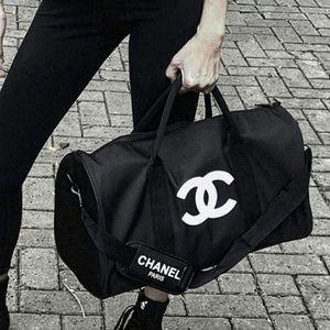 bbb7d25c63cb CHANEL Bags | Vip Travel Bag Duffle Gym Bag New | Poshmark